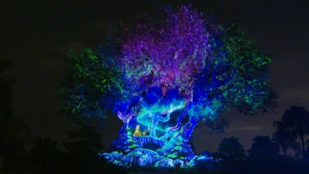 Disney's Animal Kingdom's Tree of Life 'Awakens' For the Holidays