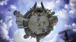 Tiny World Magic Shot by disney Photopass at at Disney's Hollywood Studios