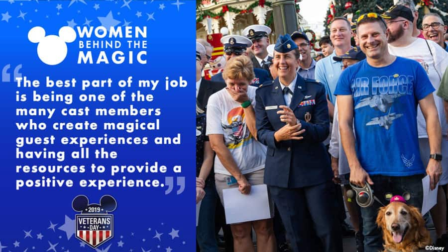 """Women Behind the Magic: """"The best part of my job is being one of the many cast members who create magical guest experiences and having all the resources to provide a positive experience."""" - Traci Arnold"""