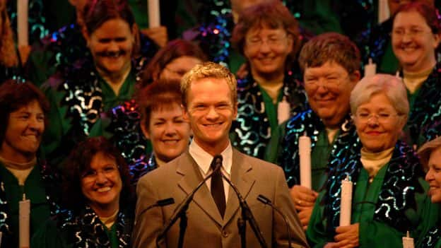 Neil Patrick Harris hosts 'The Candlelight Processional'