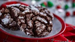 Chocolate Crinkle Cookies from Feast of the Three Kings Holiday Kitchen at the Epcot International Festival of the Holidays