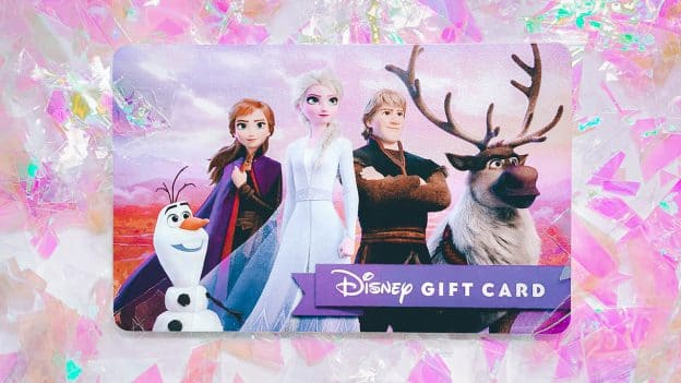 'Frozen 2'-themed Disney Gift Card