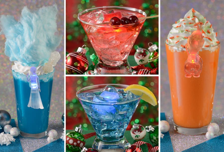 Holiday Beverages and Slushies for Holidays 2019 at Disney's Hollywood Studios