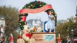 """""""A Christmas Fantasy"""" parade"""