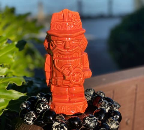 Holiday Tiki Mug from Trader Sam's Grog Grotto at Disney's Polynesian Village Resort