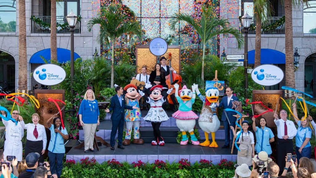 Disney's Riviera Resort Grand Opening Celebration