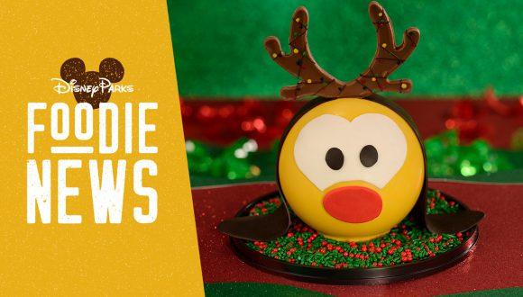 Disney Springs Foodie News: December 2019: Reindeer Pluto Piñata from The Ganachery