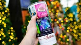 Disney Springs Christmas Tree Trail poster tumbler