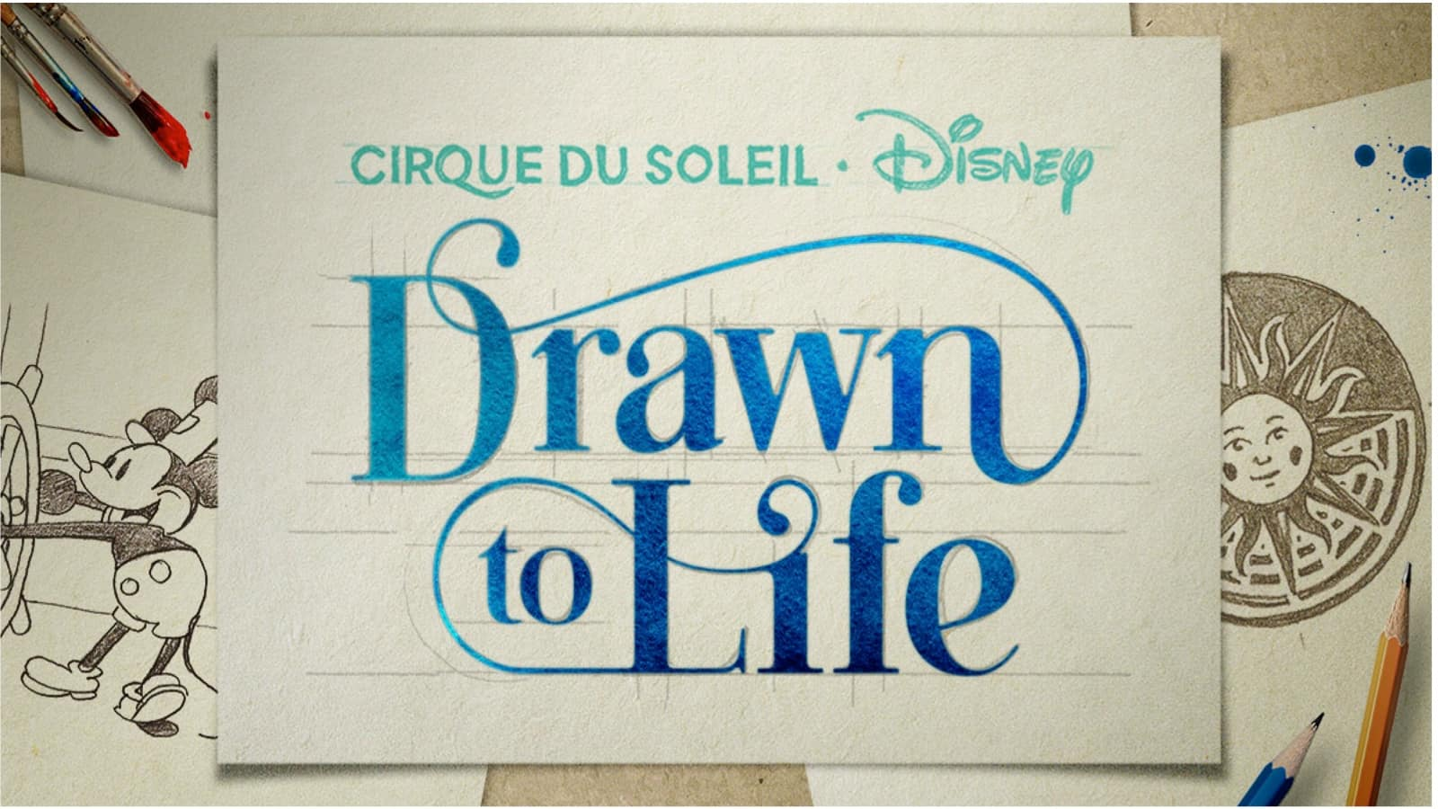 Drawn to Life by Disney & Cirque du Soleil