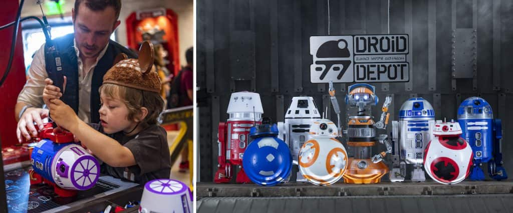 Droid Depot at Disneyland and Walt Disney World Resorts