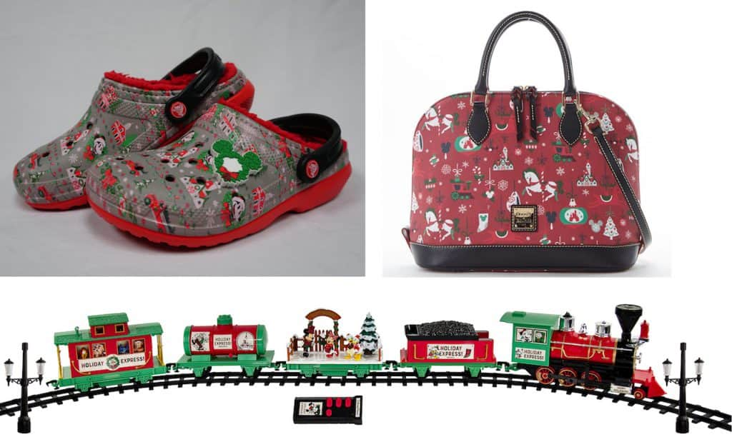 Holiday Merchandise from Disneyland and Walt Disney World Resorts