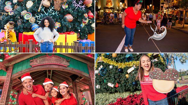 Holiday Photo Ops by Disney PhotoPass at Walt Disney World Resort