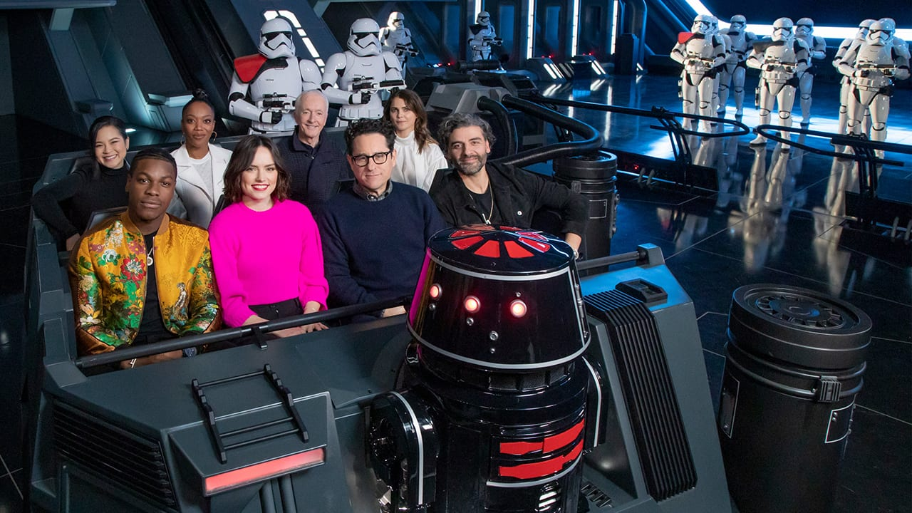 Cast Of Star Wars The Rise Of Skywalker Previews Star Wars Rise Of The Resistance Attraction In Star Wars Galaxy S Edge Disney Parks Blog