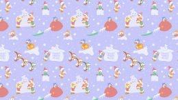 Donald Duck Snowman Wallpaper