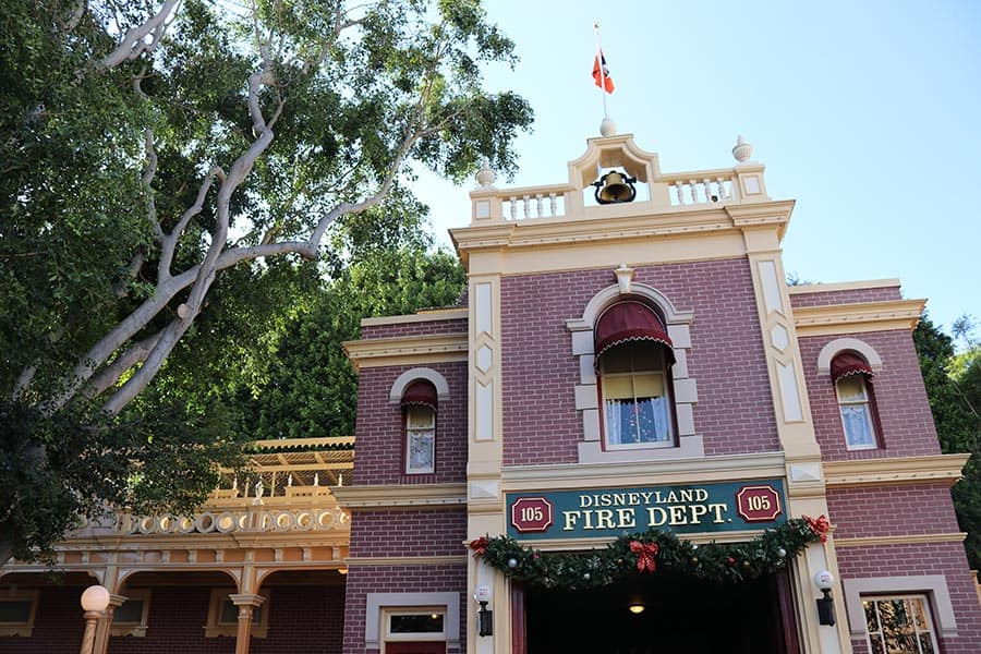 Walt's old apartment built above the Main Street Firehouse