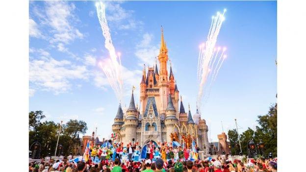 Holiday show at Walt Disney World Resort