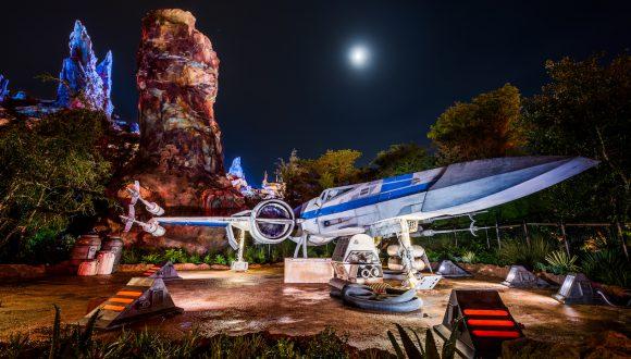 X-Wing at Star Wars: Galaxy's Edge