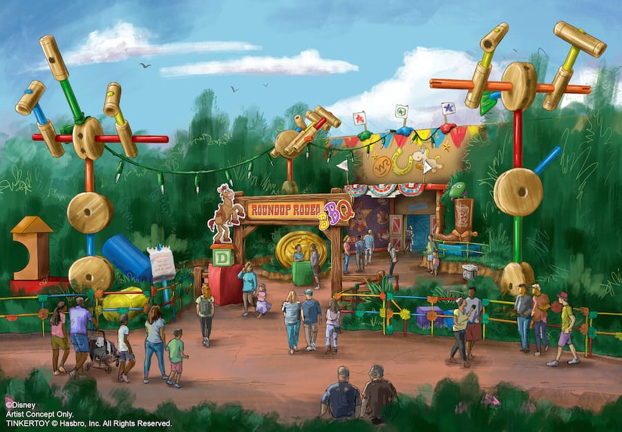 Roundup Rodeo BBQ Restaurant Coming Soon to Disney's Hollywood Studios