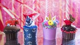 New Cupcakes on Disney Fantasy and Disney Dream