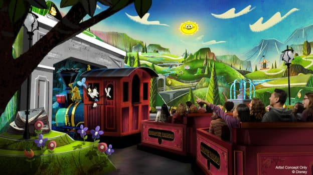 VIDEO: First Look at Mickey & Minnie's Runaway Railway