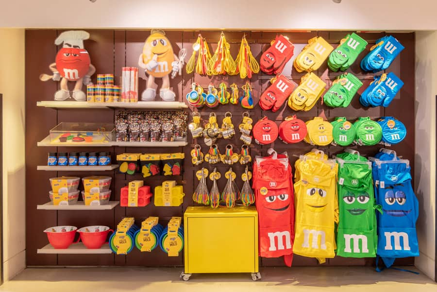 Merchandise at M&M'S Store Orlando