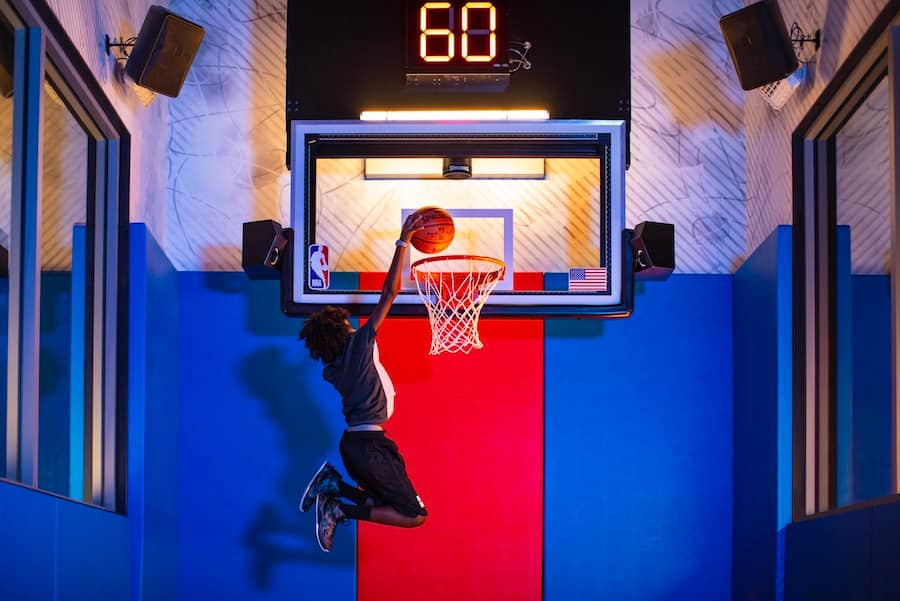 Slam Dunk at NBA Experience at Disney Springs
