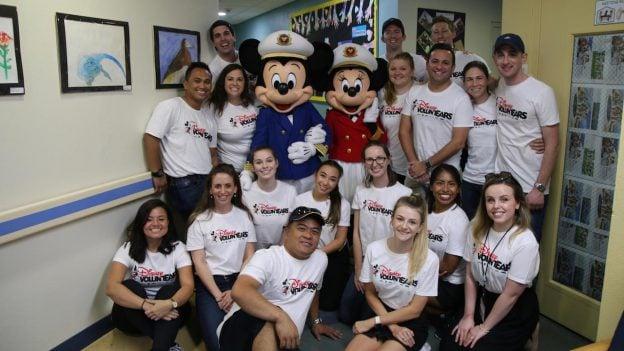 Disney Cruise Line Crew Members Spread Holiday Cheer in Local Port Communities