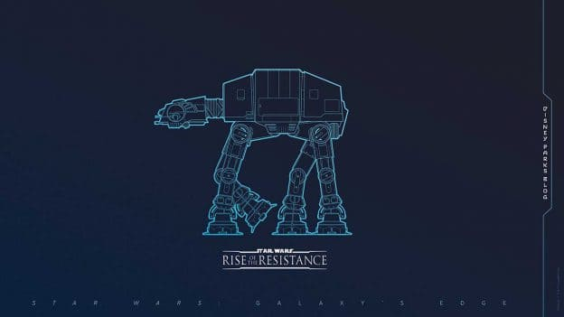 Celebrate The Debut Of Star Wars Rise Of The Resistance With Our Latest Digital Wallpaper Disney Parks Blog