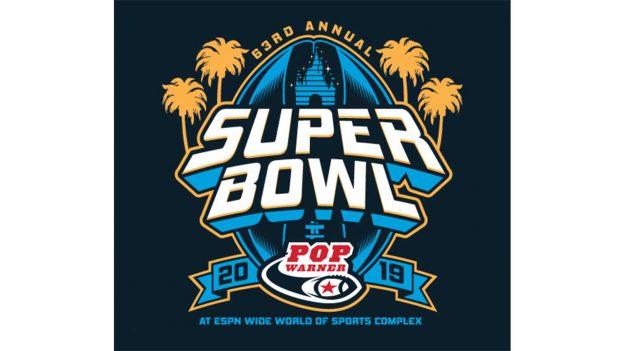 2019 Pop Warner Super Bowl logo