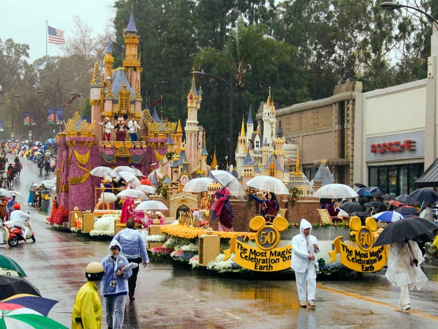 2006 Disney Float during the Rose Parade