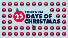 "Freeform's ""25 Days of Christmas"""