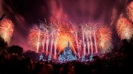 "Fantasy in the Sky"" fireworks at Magic Kingdom Park"