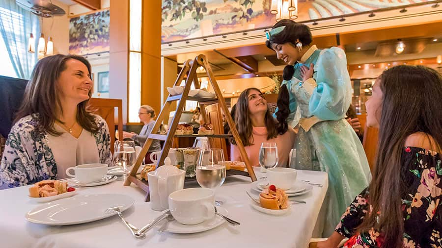 Disney Princess Breakfast Adventures at the Disneyland Resort