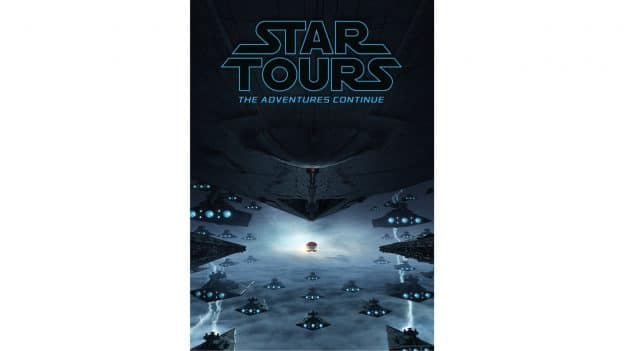 New Star Tours attraction poster