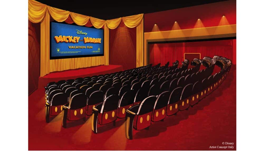 Rendering of Mickey Shorts Theater coming to Disney's Hollywood Studios