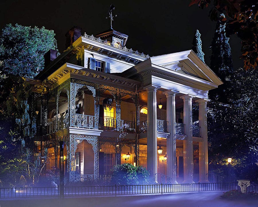Haunted Mansion in Disneyland park celebrated 50 years