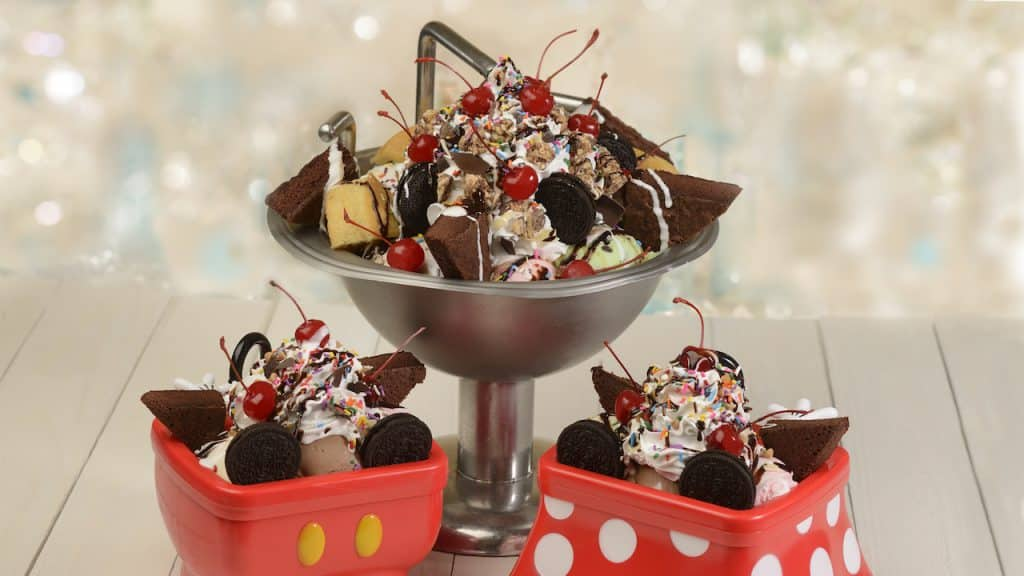 Kitchen Sink Sundae from Beaches & Cream Soda Shop at Disney's Beach Club Resort