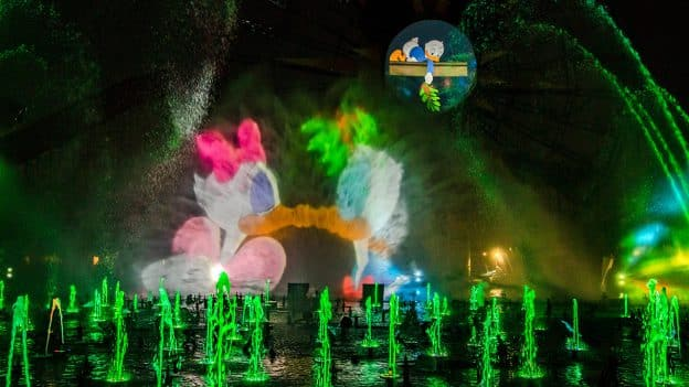 'World of Color – Season of Light' at Disney California Adventure park