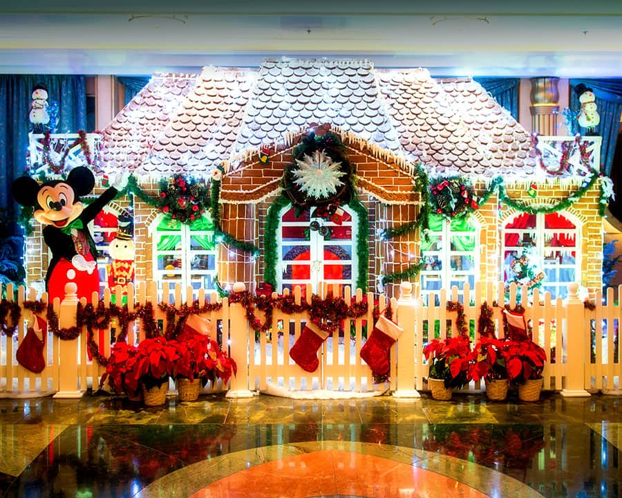 Disney Fantasy Gingerbread House