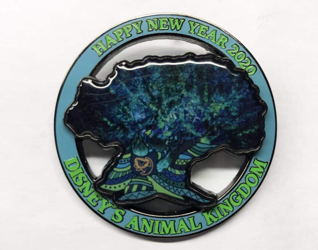 2020 commemorative pin from Disney's Animal Kingdom