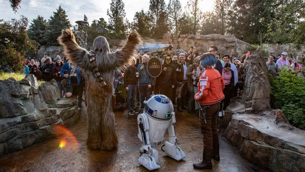 Star Wars: Rise of the Resistance Opening at Disneyland Park