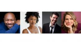 Broadway stars Alton Fitzgerald, Kissy Simmons, Gavin Lee, and Heidi Blickenstaff