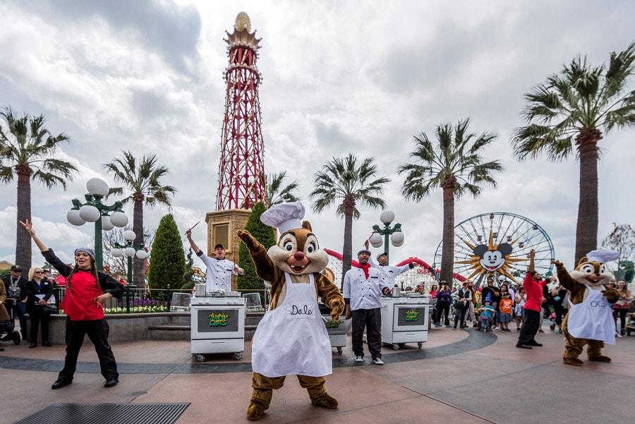 """Jammin Chefs"" at Disney California Adventure Food & Wine Festival"