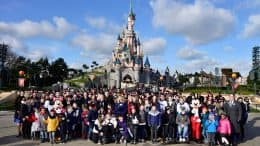 Disneyland Paris welcomes 300 Kids for Pièces Jaunes Fundraising Campaign
