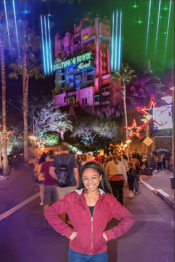 Sunset Boulevard Disney PhotoPass Photo Op at Disney's Hollywood Studios