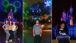Collage of Disney PhotoPass 15th Anniversary Celebration Photo Ops at Walt Disney World Resort
