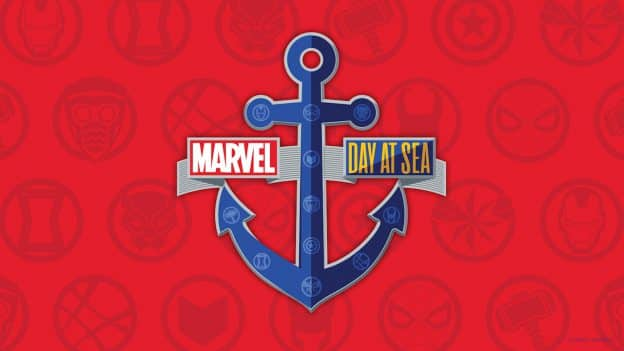 Marvel Day at Sea digital wallpaper