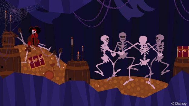 Disney Doodles: The Skeletons from 'The Skeleton Dance'