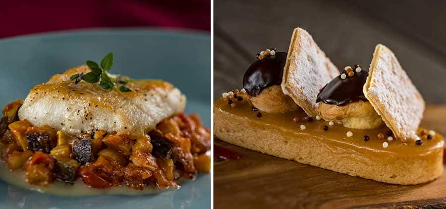 Offerings from Cuisine Classique for the 2020 Epcot International Festival of the Arts