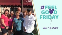 Feel Good Friday: Volunteer Family